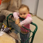 A little Neighbor visits BACN Food Pantry